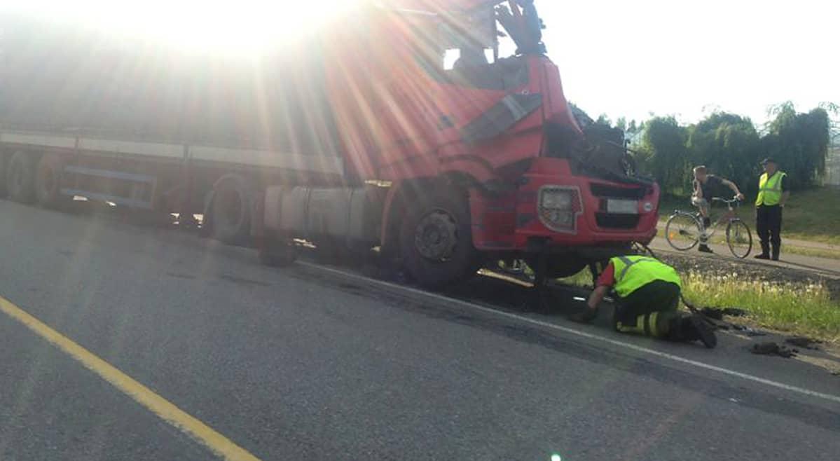 Liikenneonnettomuus Tampere