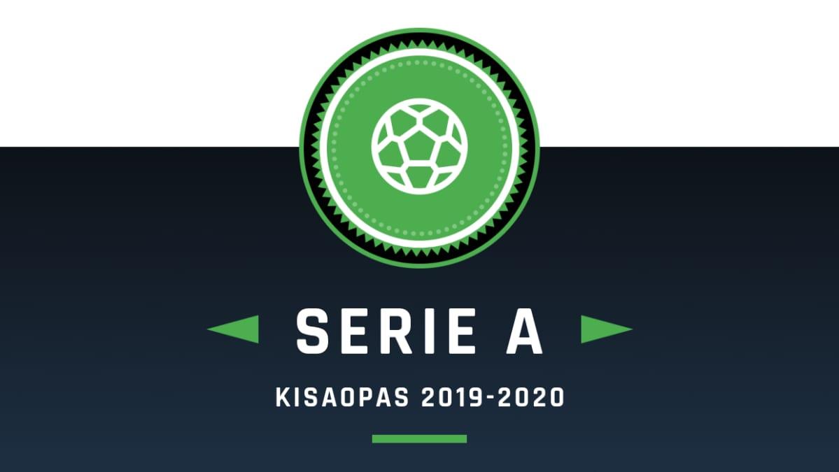 Serie A Sarjataulukko