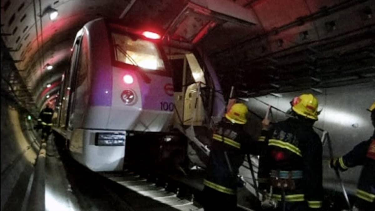 Metro Onnettomuus