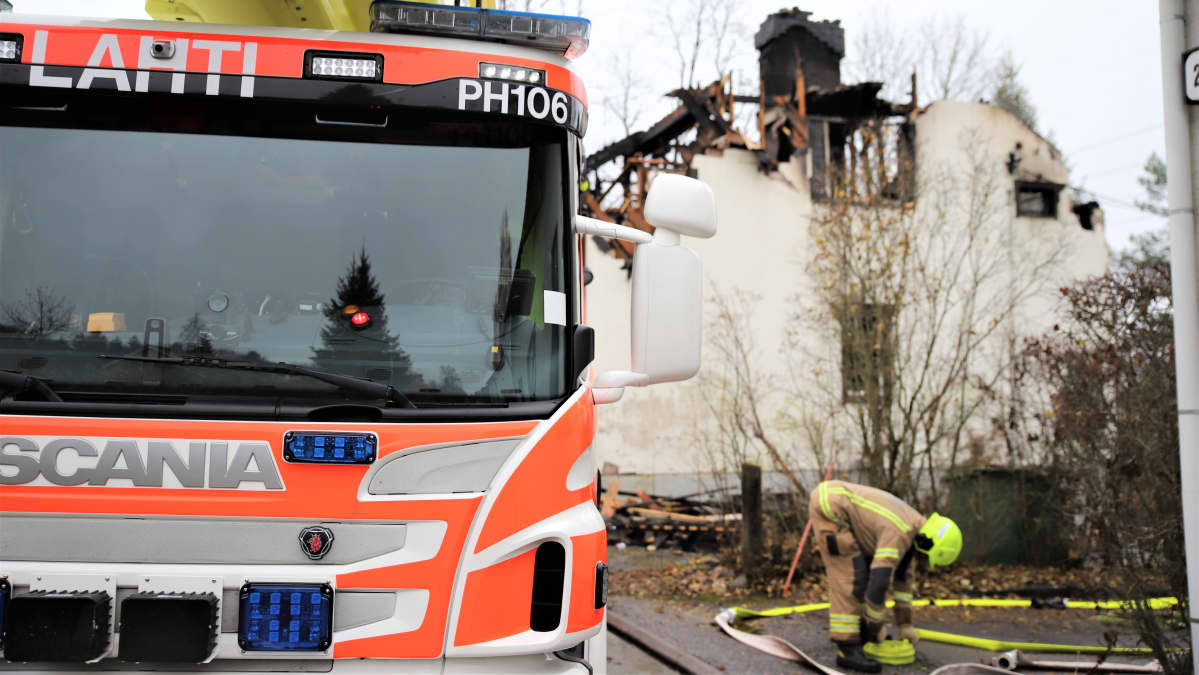 Tulipalo Lahti