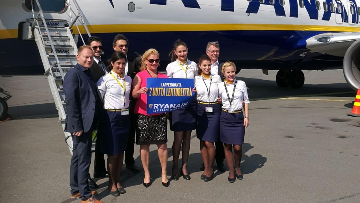 Ryanair Lappeenranta Ateena