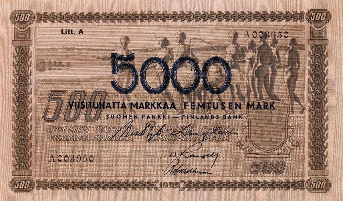 100 Markan Seteli Arvo