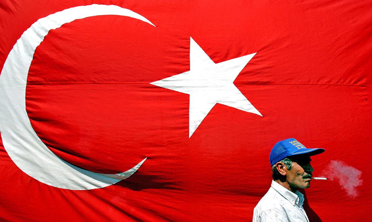 Turkkilainen Tupakoi