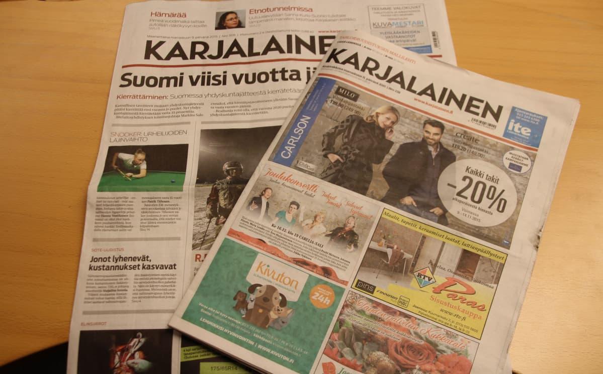 Karjalainen Sanomalehti