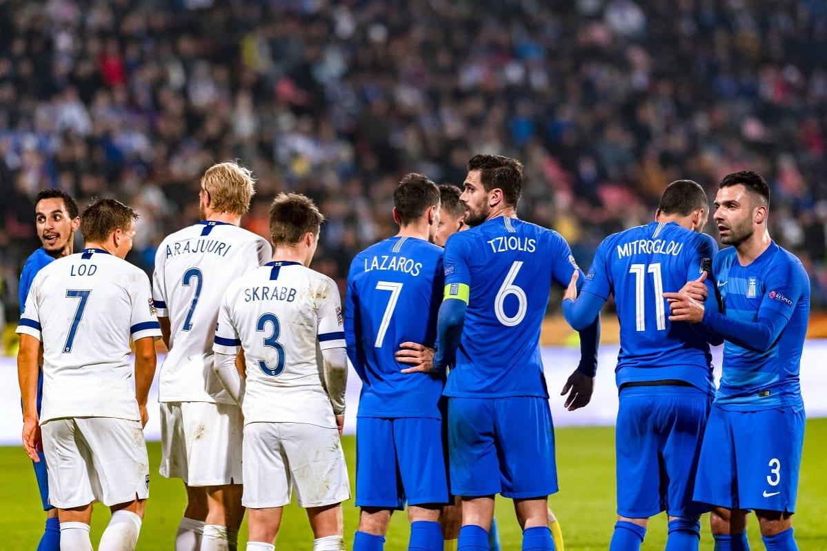 Jalkapallo Suomi Kreikka