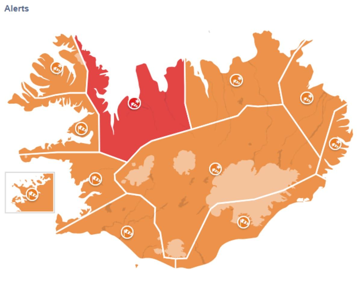 Islannin Sää