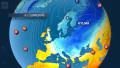 Video: Kylmää ilmaa valuu Keski-Eurooppaan