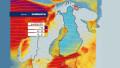 Видео: Tuuli ja sateet piiskaavat Suomea.