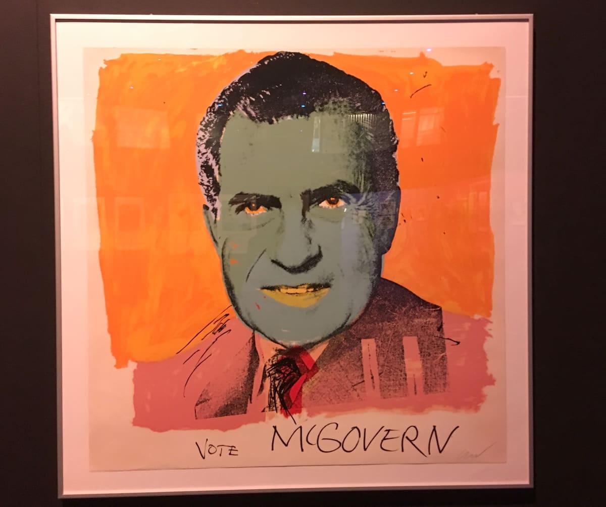 Warholin maalaama Richard Nixon