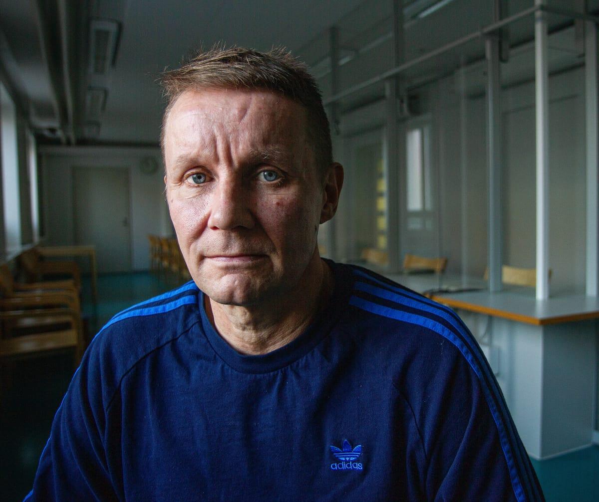 Ari-Pekka Riihimäen vankilassa.