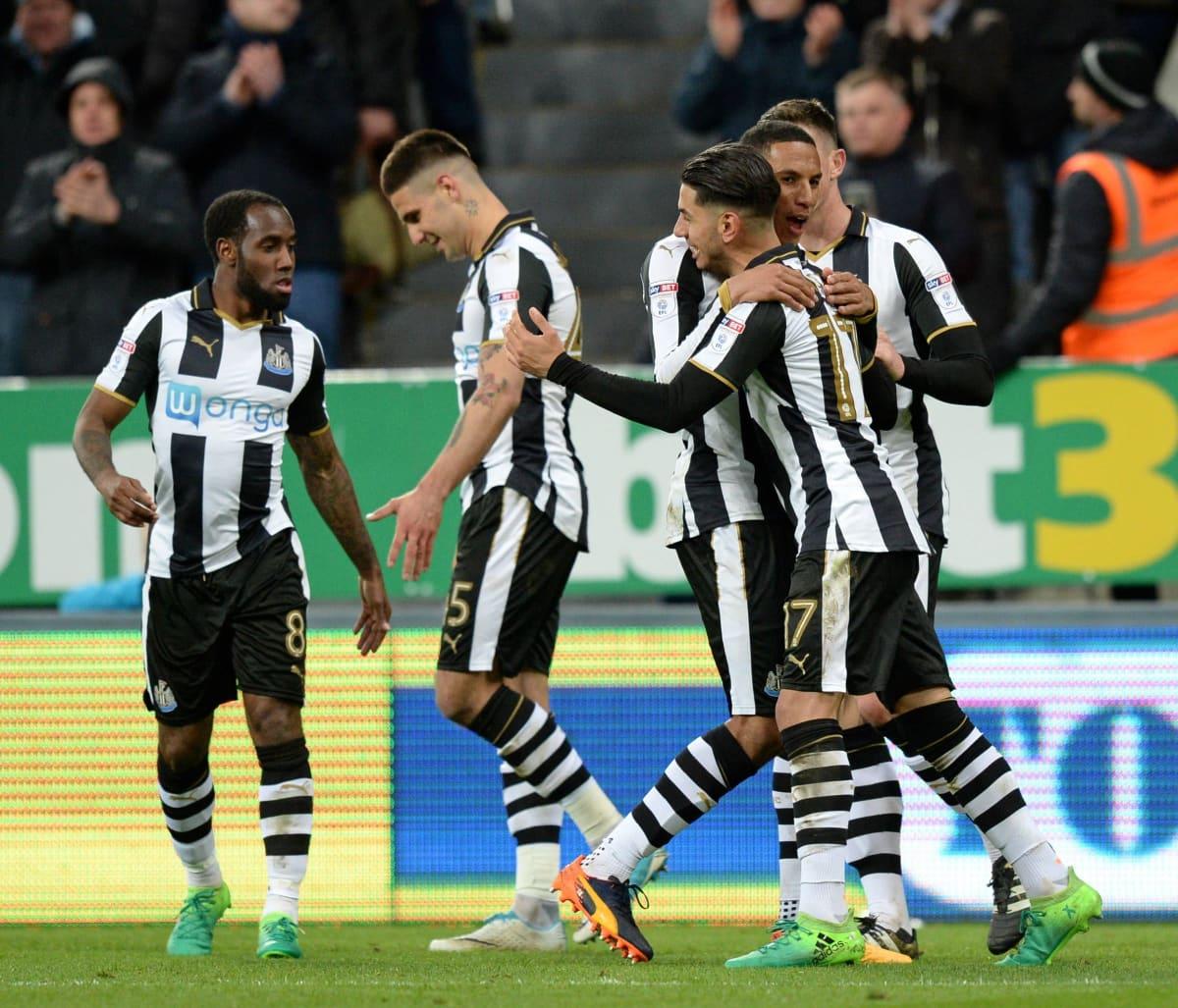 Newcastle United palaa Valioliigaan