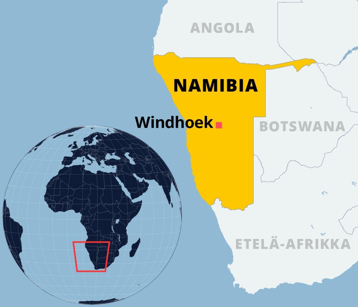 Kartalla Namibia.