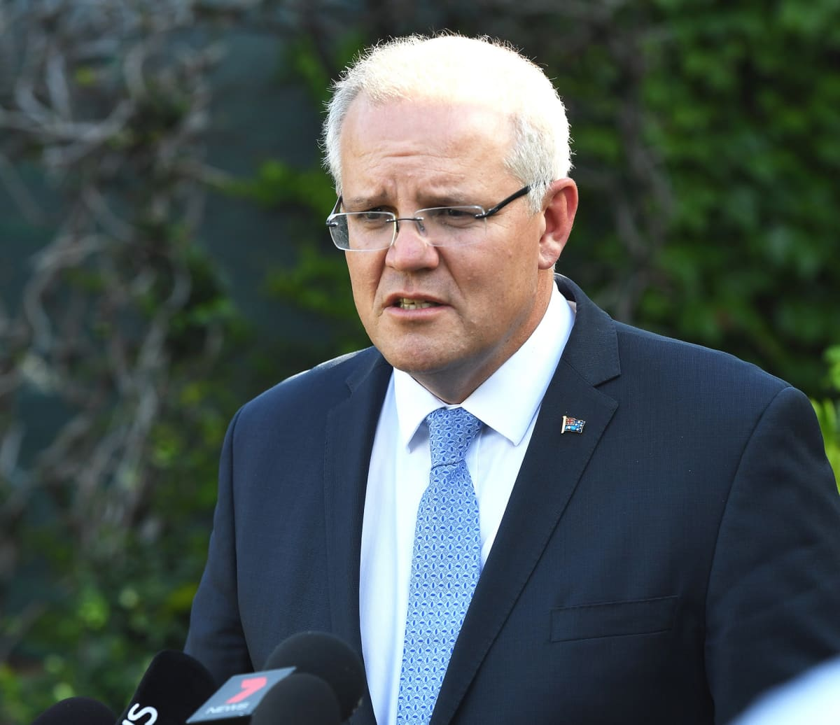 Australian pääministeri Scott Morrison.