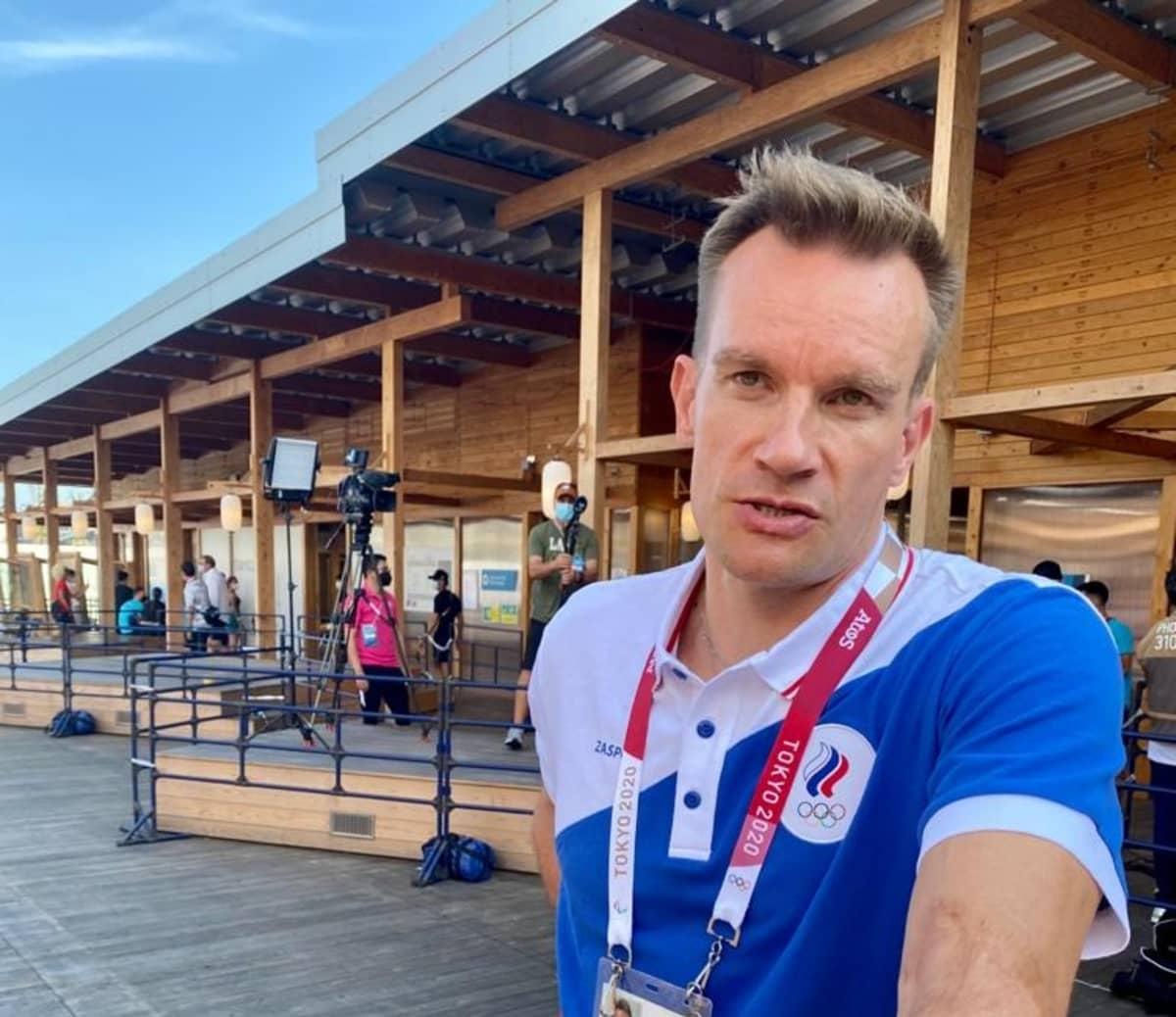 Tuomas Sammelvuo nauttii unelmastaan Tokion olympialaisissa.