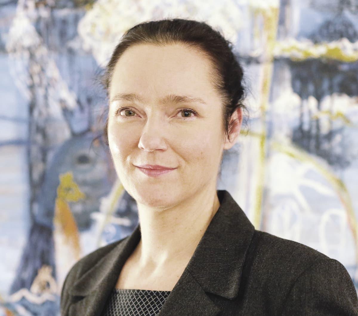 Pakolaisavun toiminnanjohtaja Annu Lehtinen