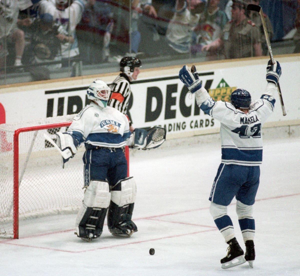 Markus Ketterer ja Mikko Mäkelä 1992