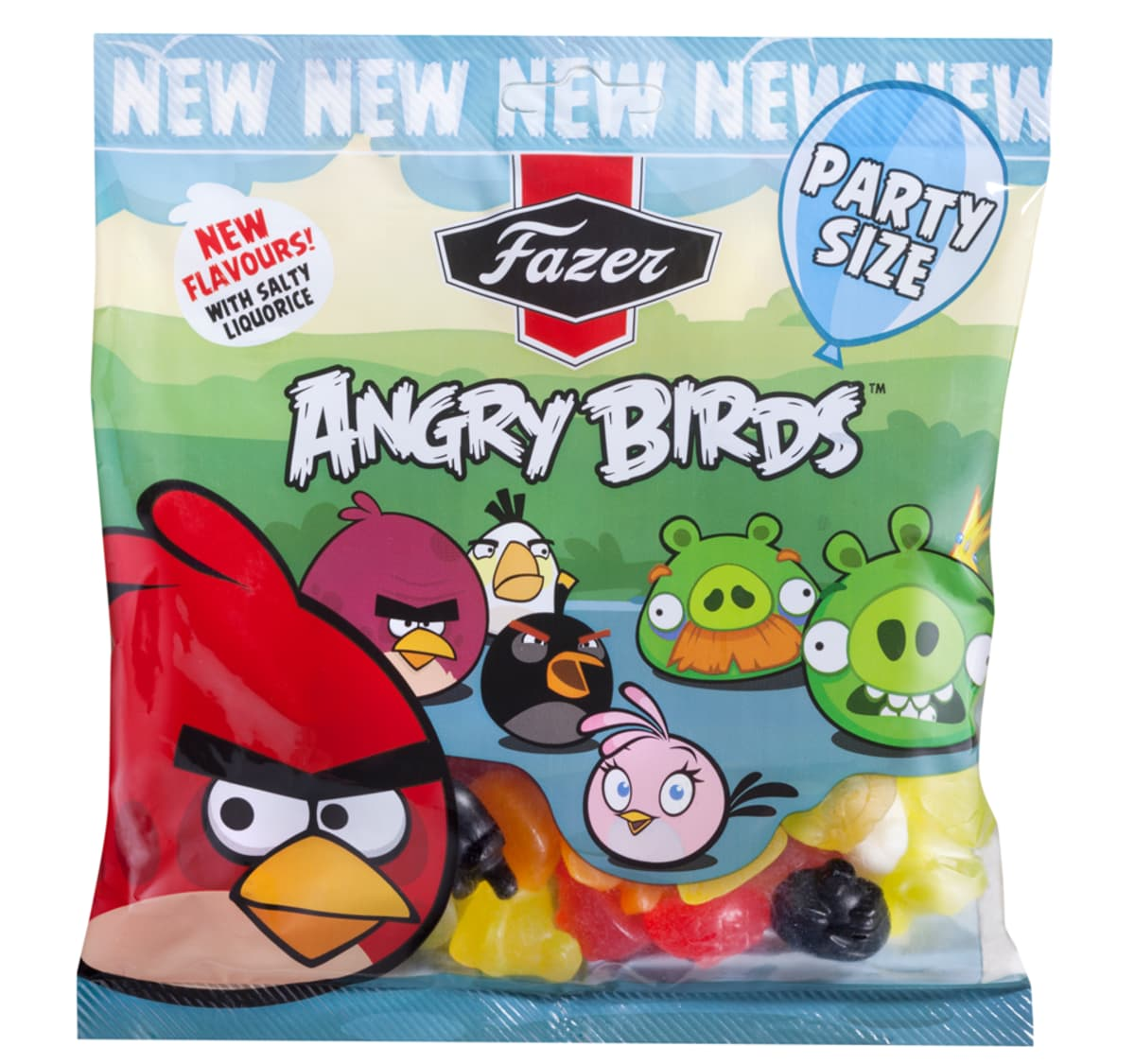 fazer Angry Birds Party Size