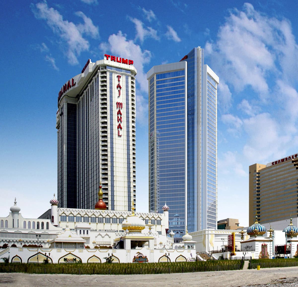 Trumpin Taj Mahal -kasino Atlantic Cityssa.