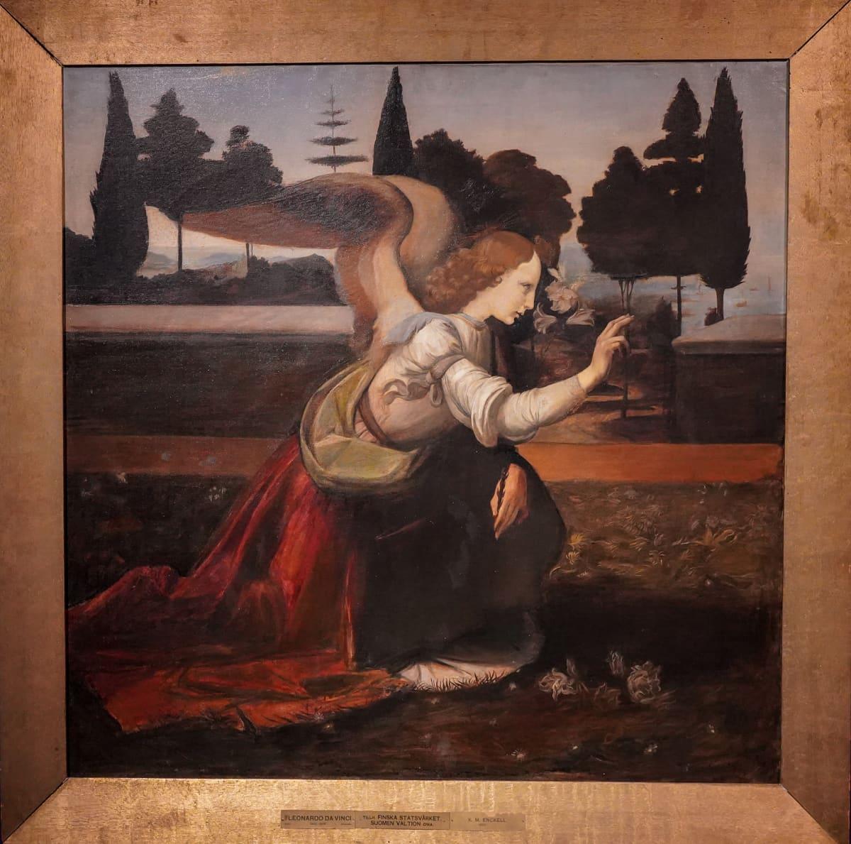 Magnus Enckell, Salon taidemuseo, Lenardo da Vinci