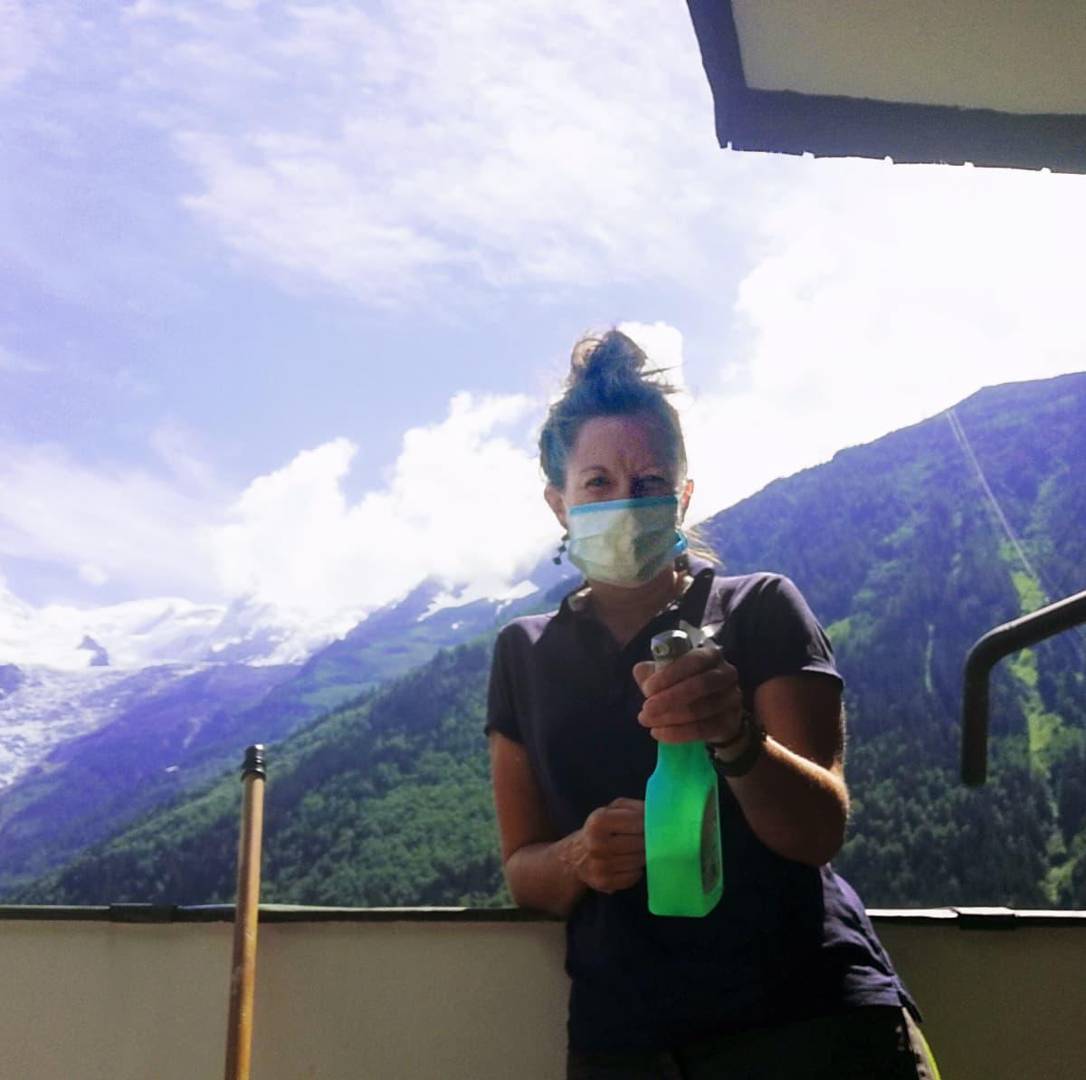 Sari Kupari, XC Chamonix