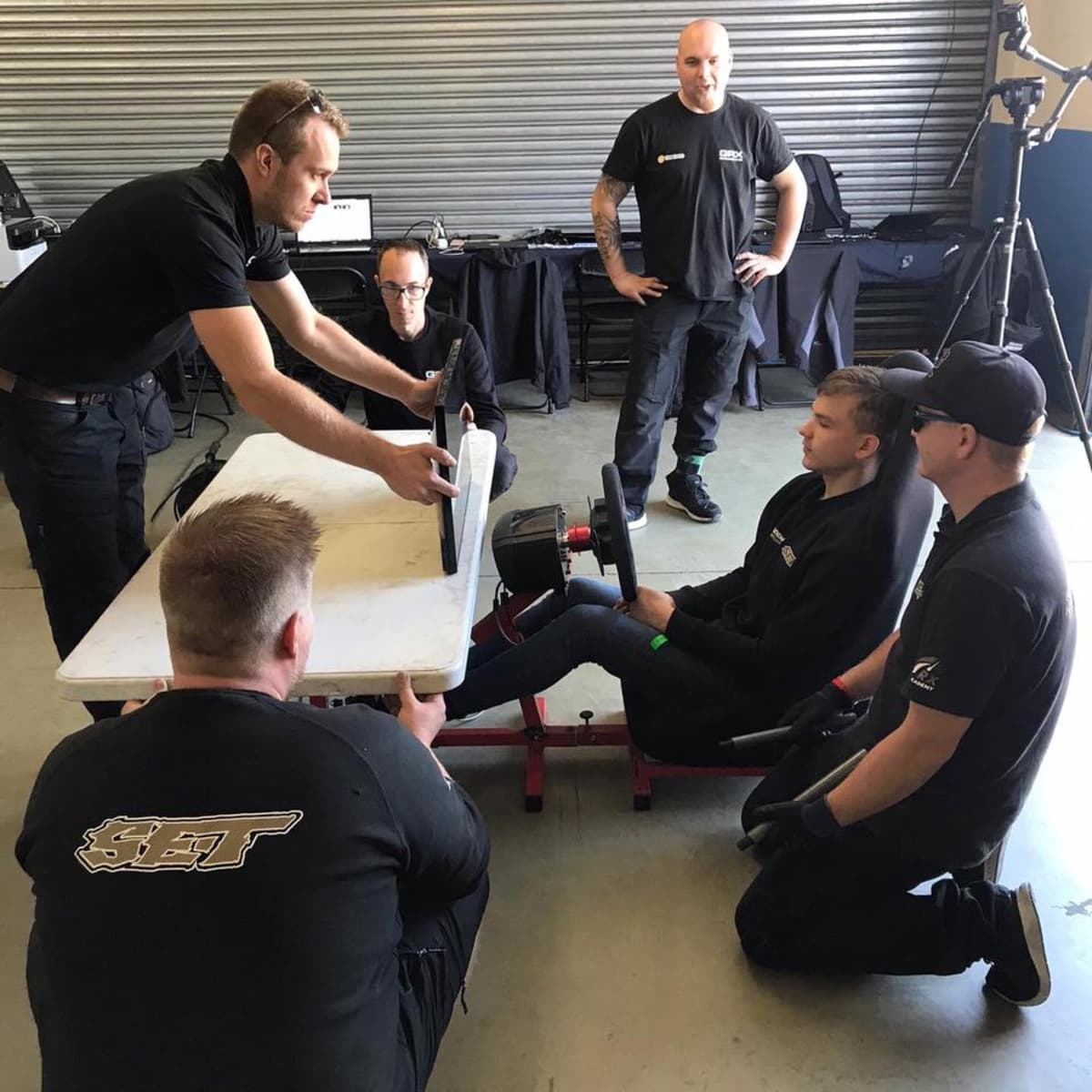 Sami-Matti Trogenin tiimi kasasi kuljettajalle ajopenkin Etelä-Afrikassa.