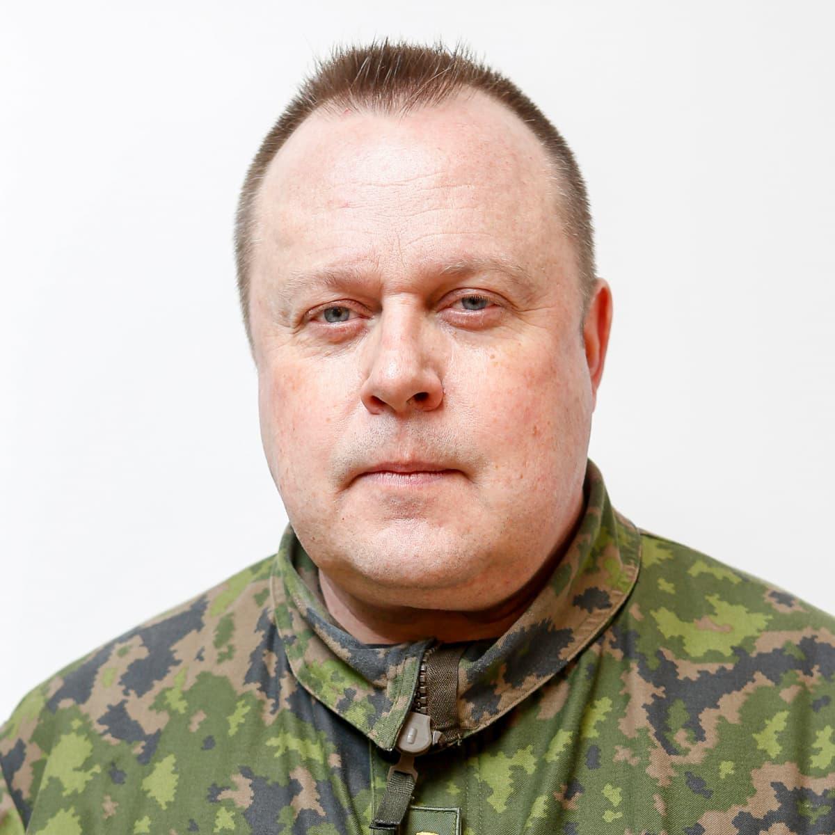 Eversti Pasi Hirvonen.