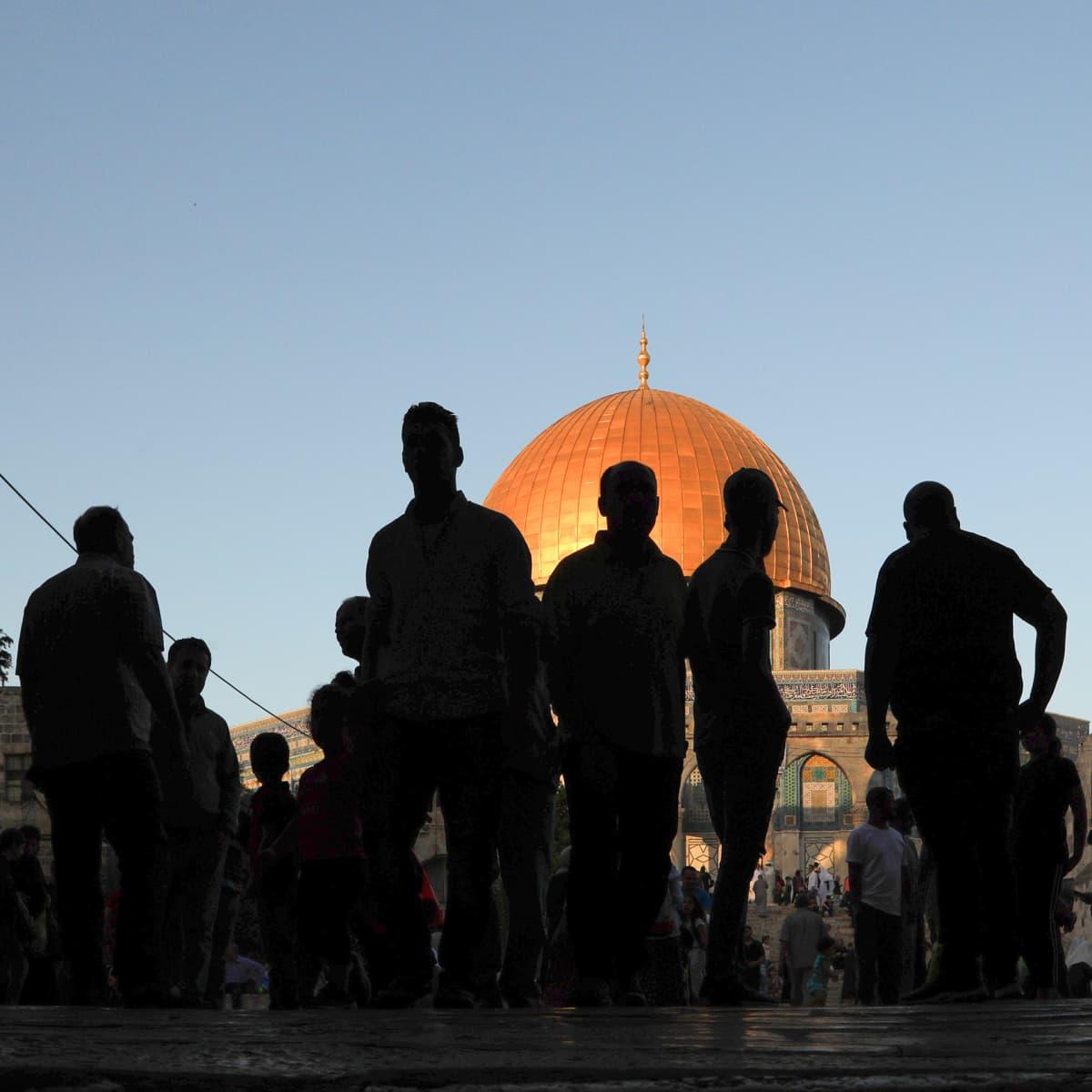 al-Aqsa moskeija.