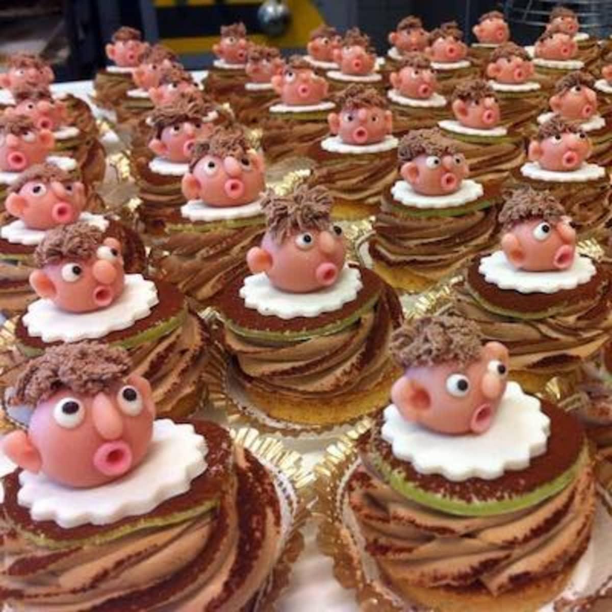 Anders Tegnellin näköisiä leivoksia