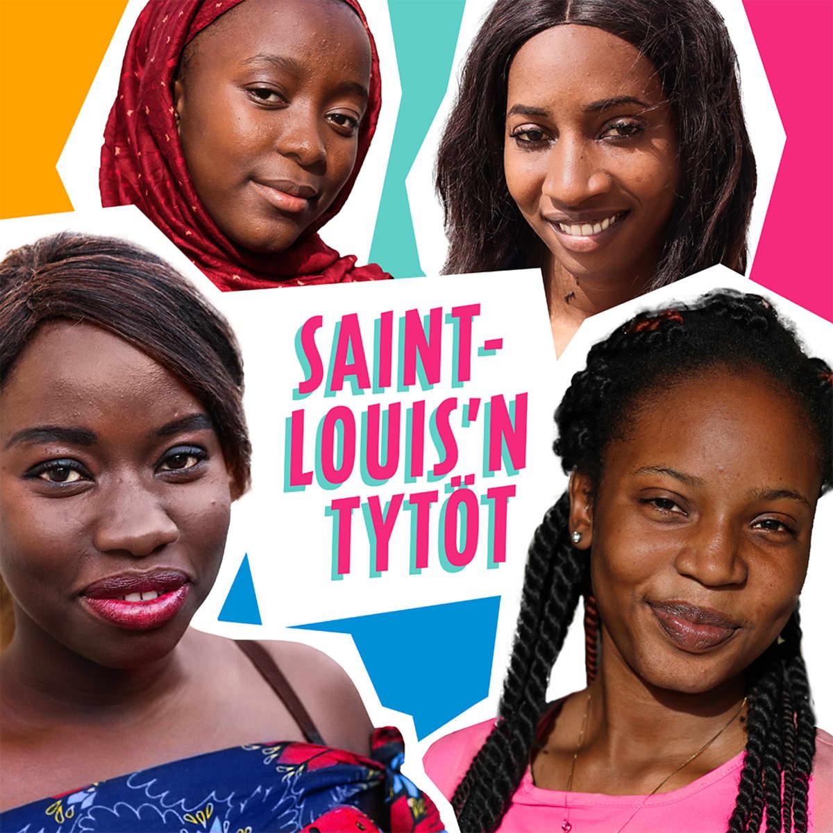 Saint-Louis'n tytöt -audiosarjan Areena-kuva.