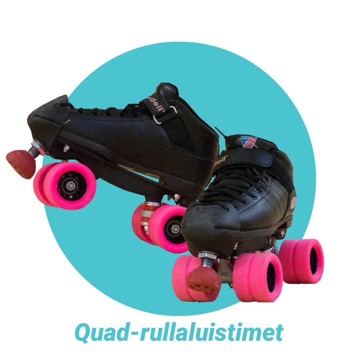 Quad-rullaluistimet