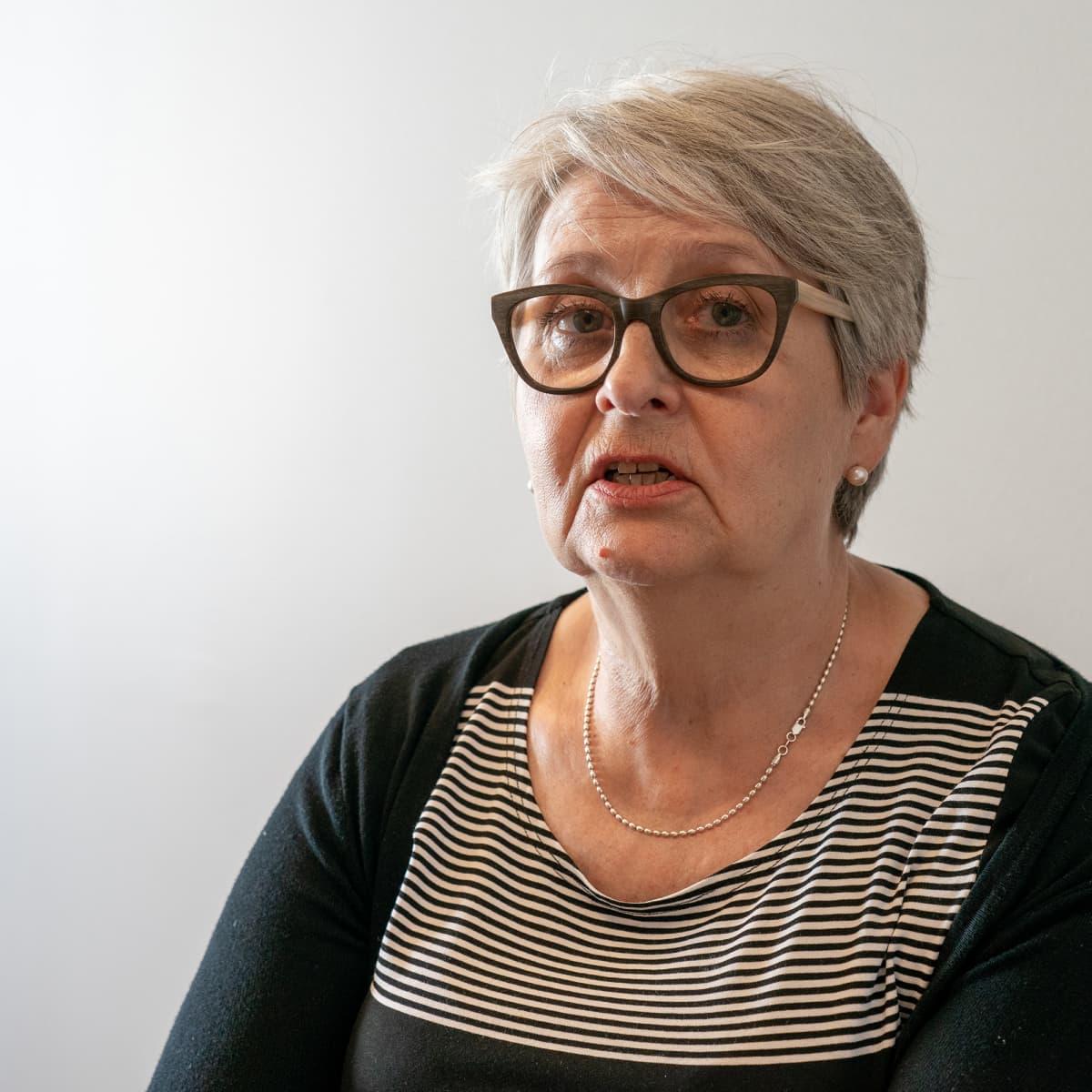 Kriisikeskustoimintojen johtaja Outi Ruishalme.