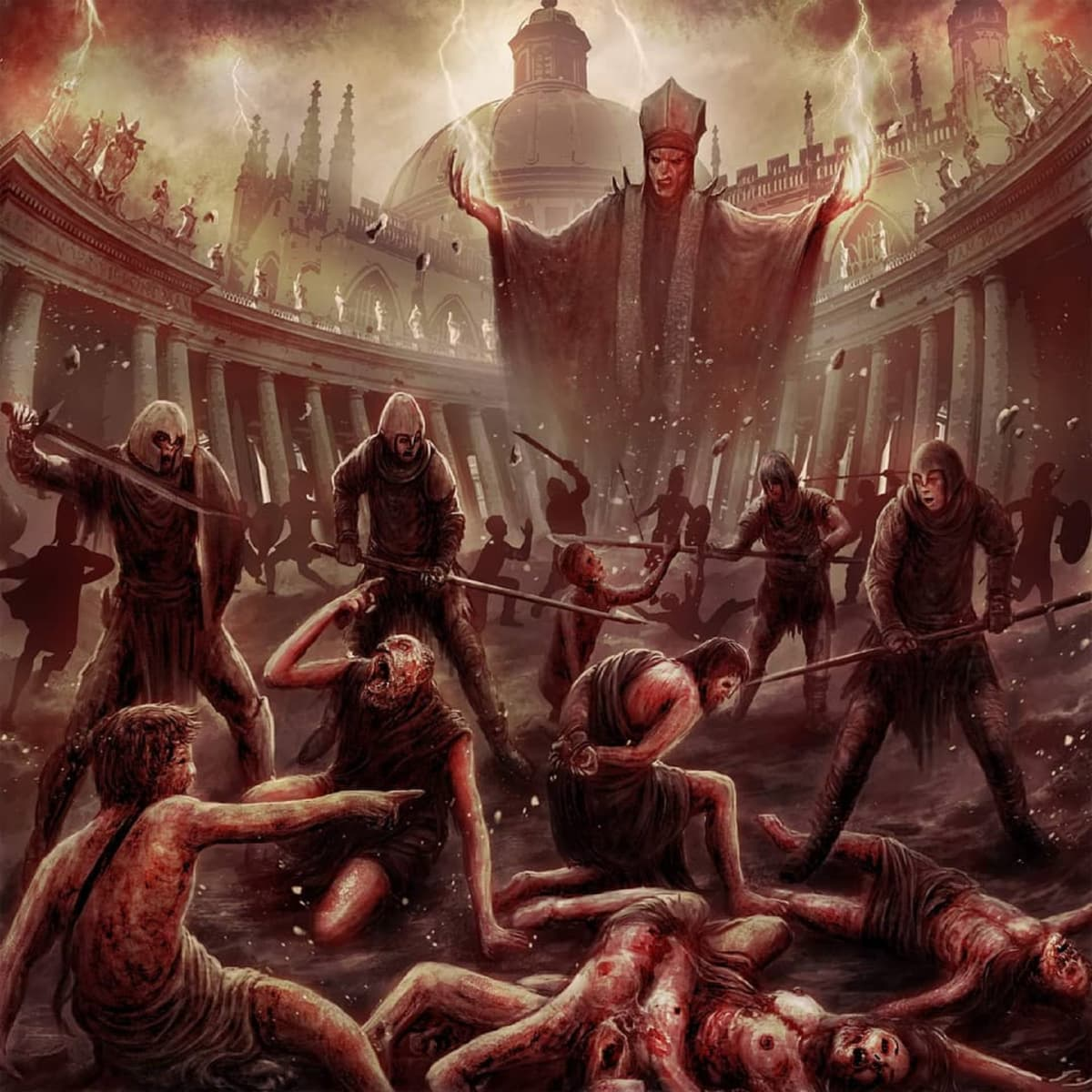 Death metal, Rudi Gorgingsuicide Art Yanto, Damned By The Pope