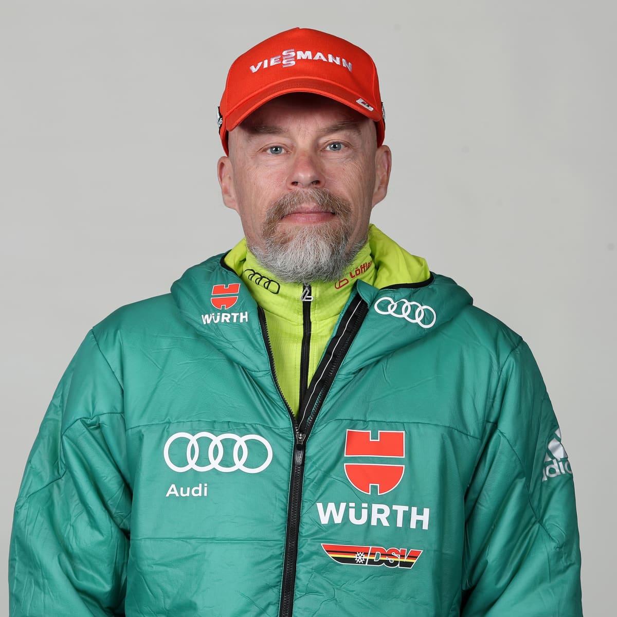 Heikki Alakärppä toimi aikaisemmin Saksan hiihtomaajoukkueen suksihuoltajana.