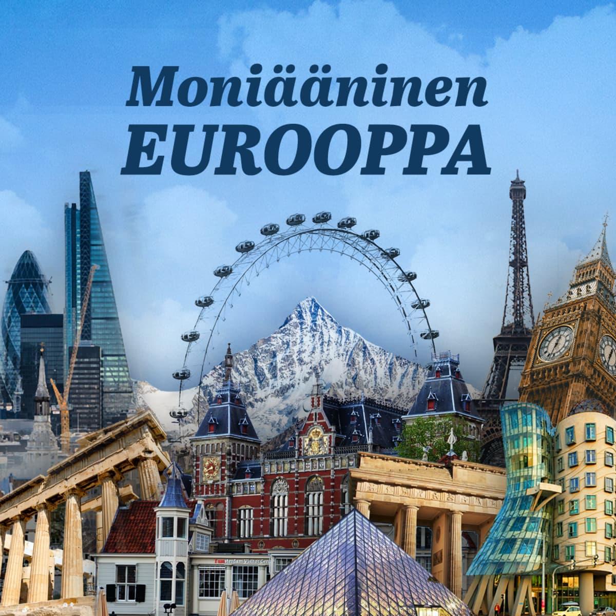 Moniääninen Eurooppa -sarjan logo.