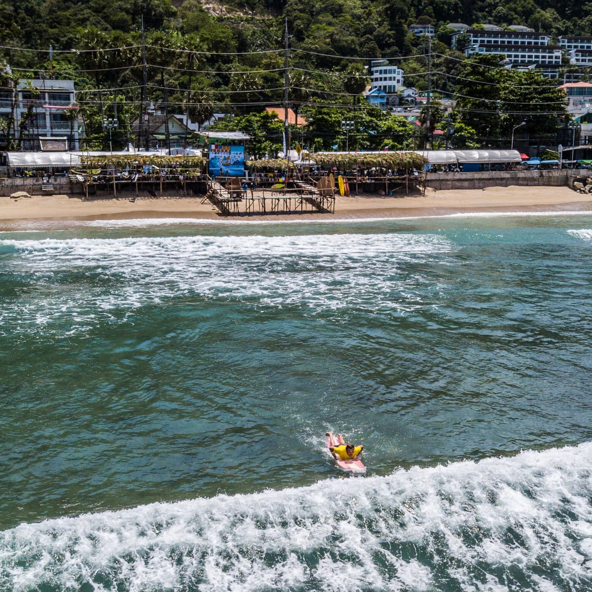 Kalim Beach, Phuketissa.