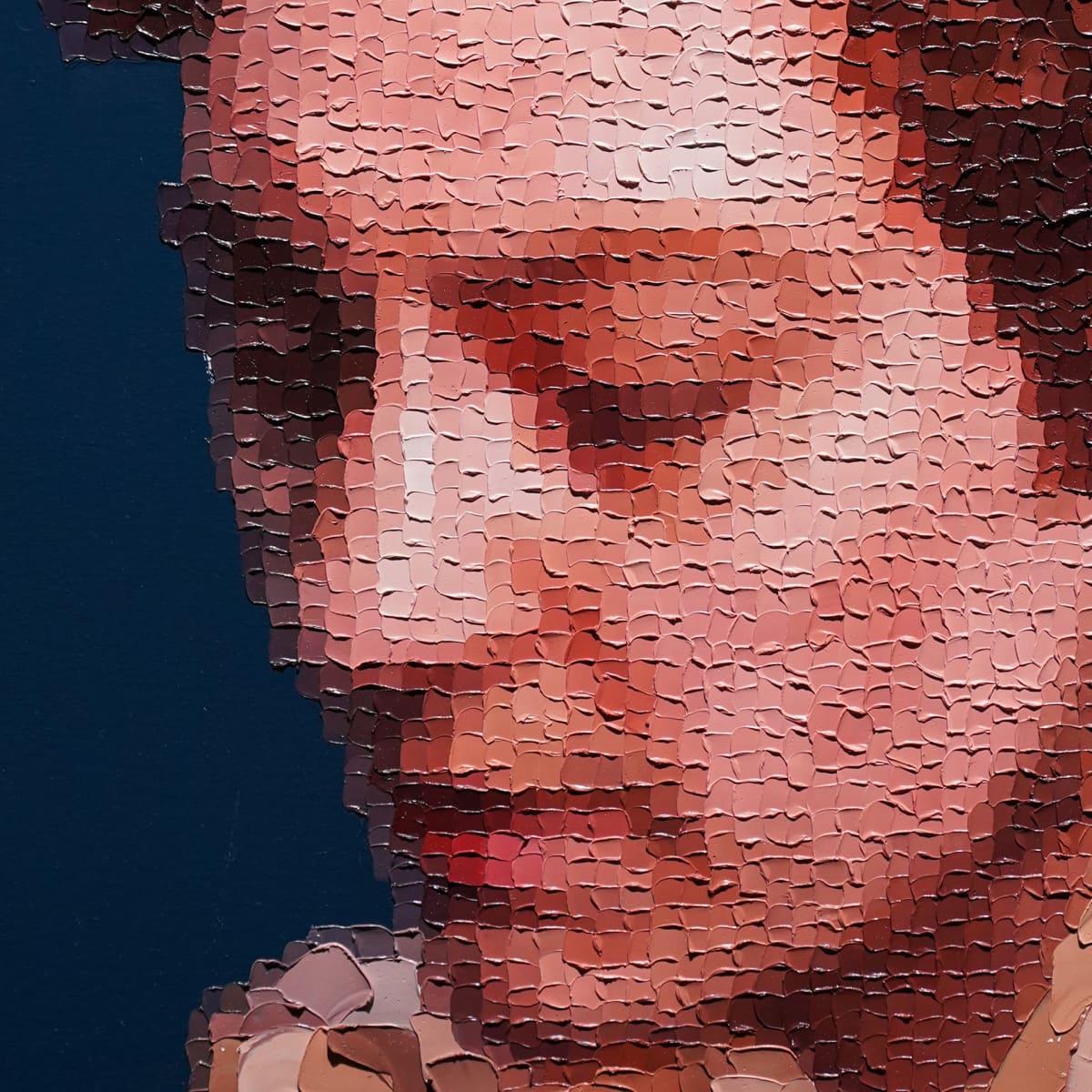 Mäntän kuvataideviikot, Sami Lukkarinen, pikselimuotokuva