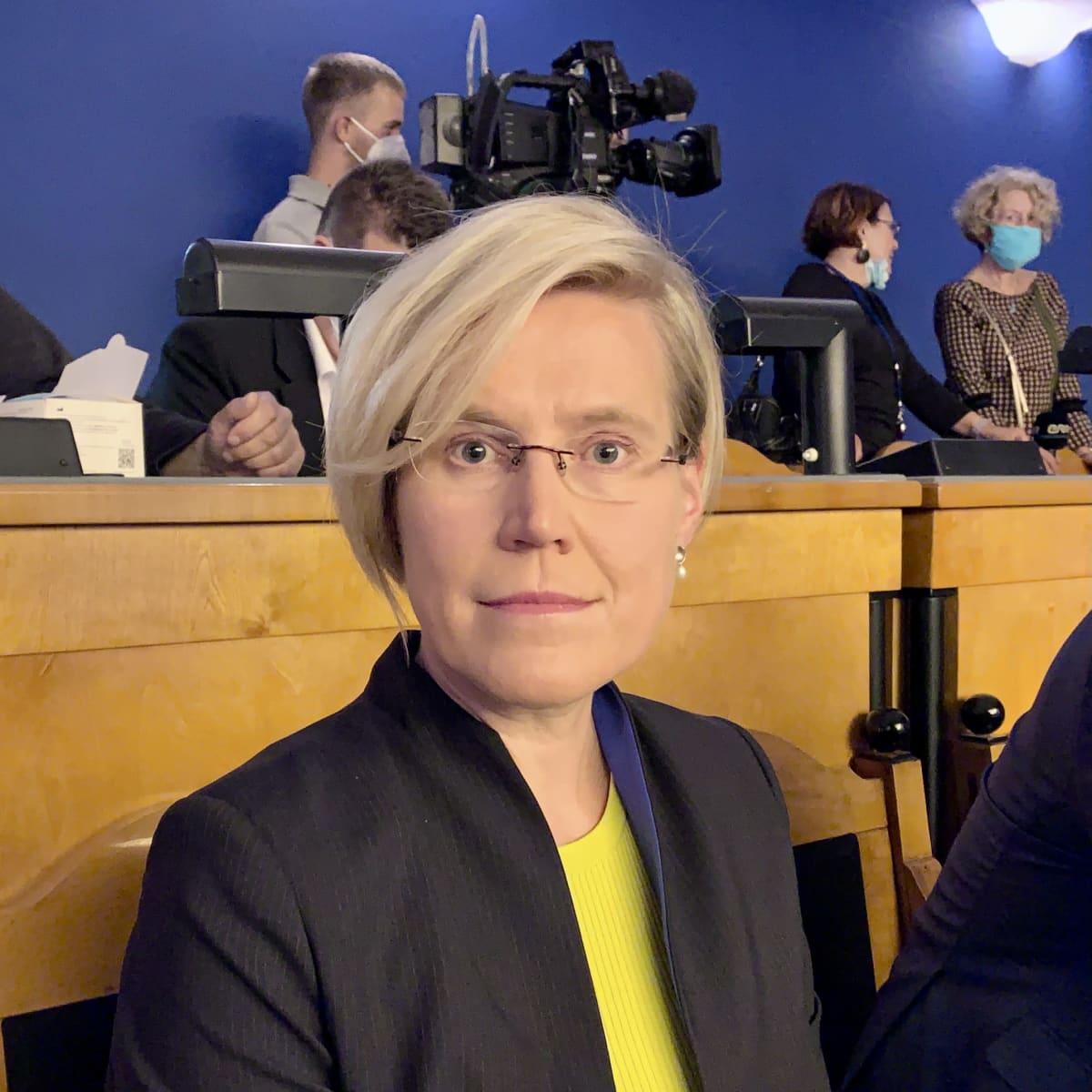 Viron oikeuskansleri Ülle Madise.