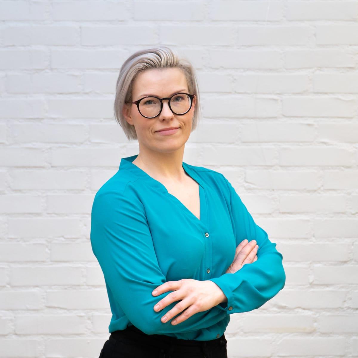 Lapsettomien yhdistys Simpukan toiminnanjohtaja Johanna Repo.
