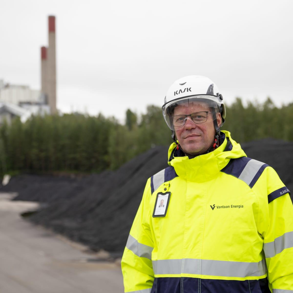 Vantaan Energian toimitusjohtaja Jukka Toivonen.