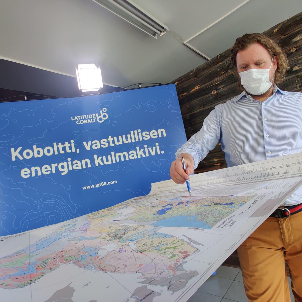 Latitude kaivoyhtiö etsii kobolttia Kuusamosta