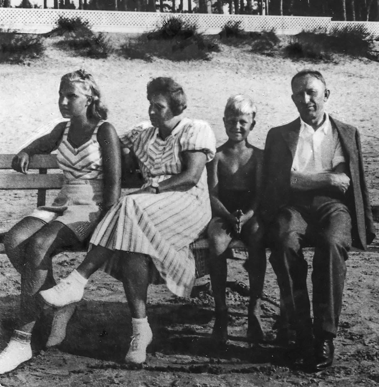 Tammsaaren perhe