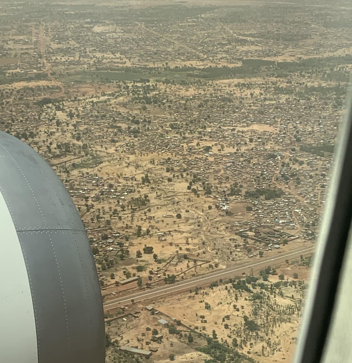 Ilmakuva Burkina Fasosta