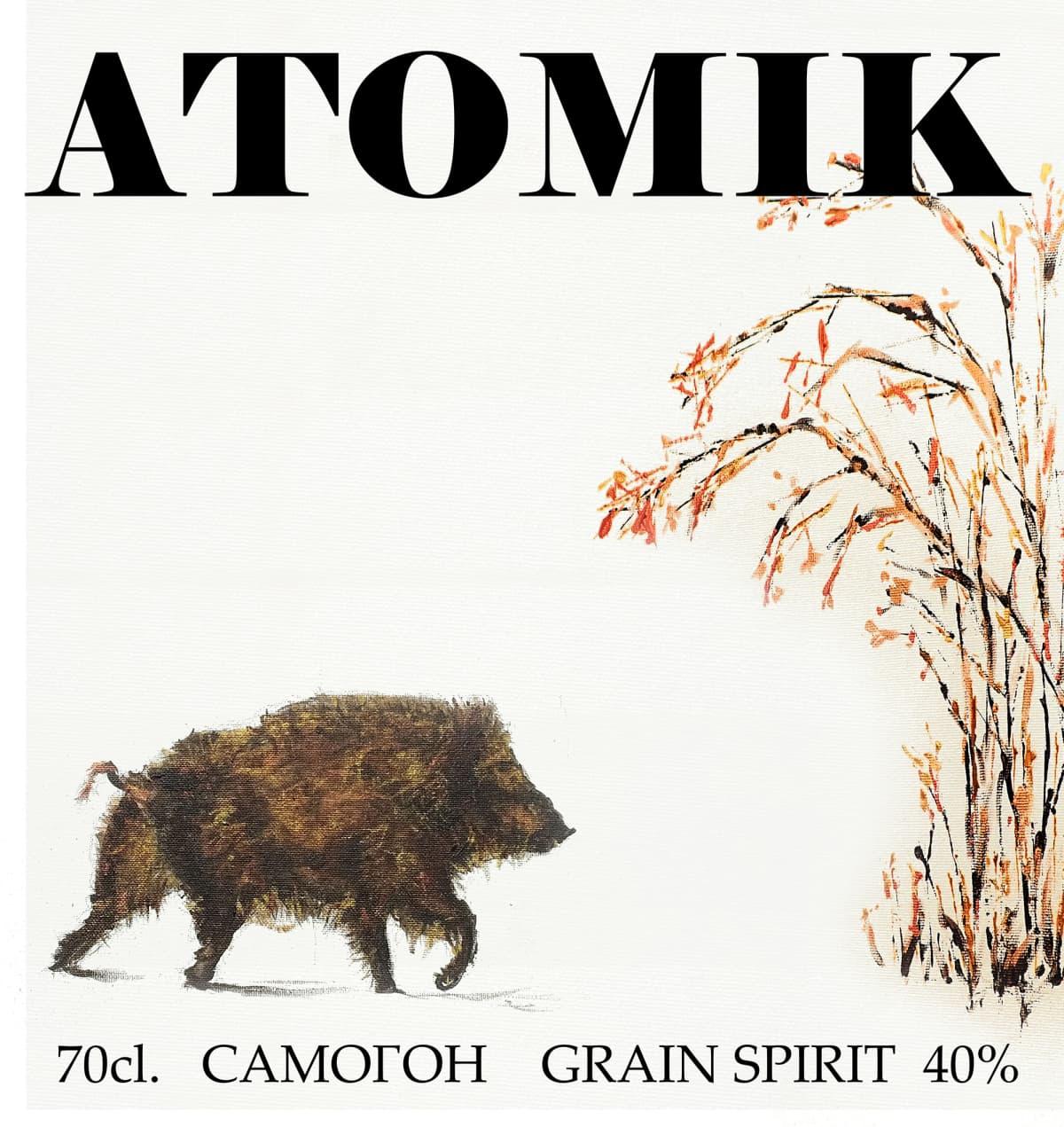 Tshernobyl vodka Atomik.