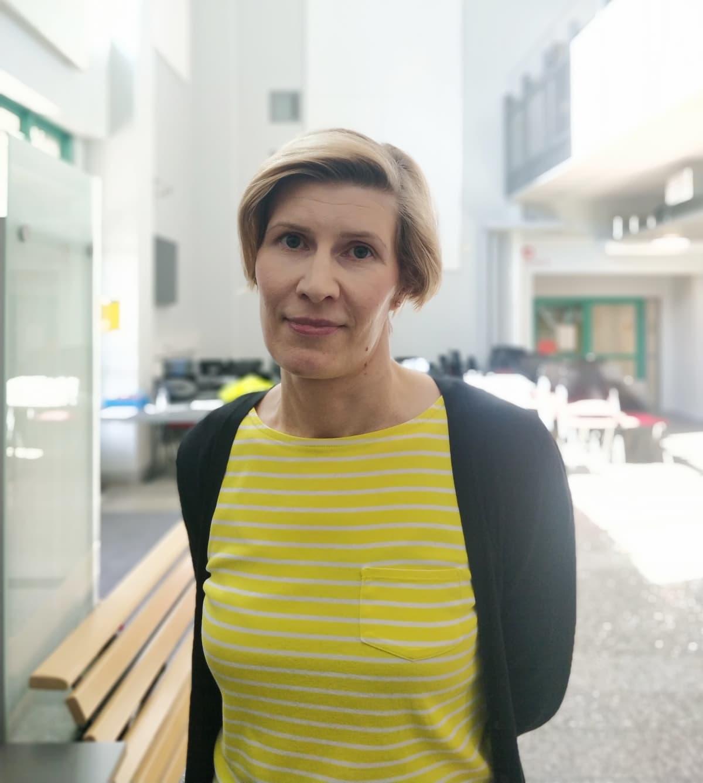 Joensuun kaupungin hyvinvointikoordinaattori Heini Lehikoinen.