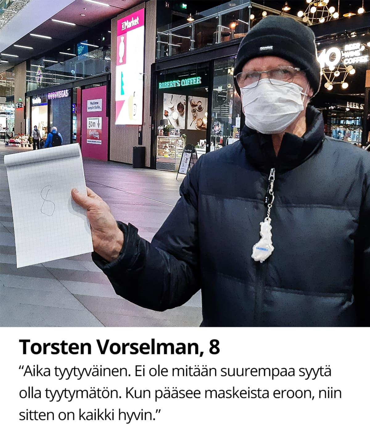 Torsten Volselman, 8