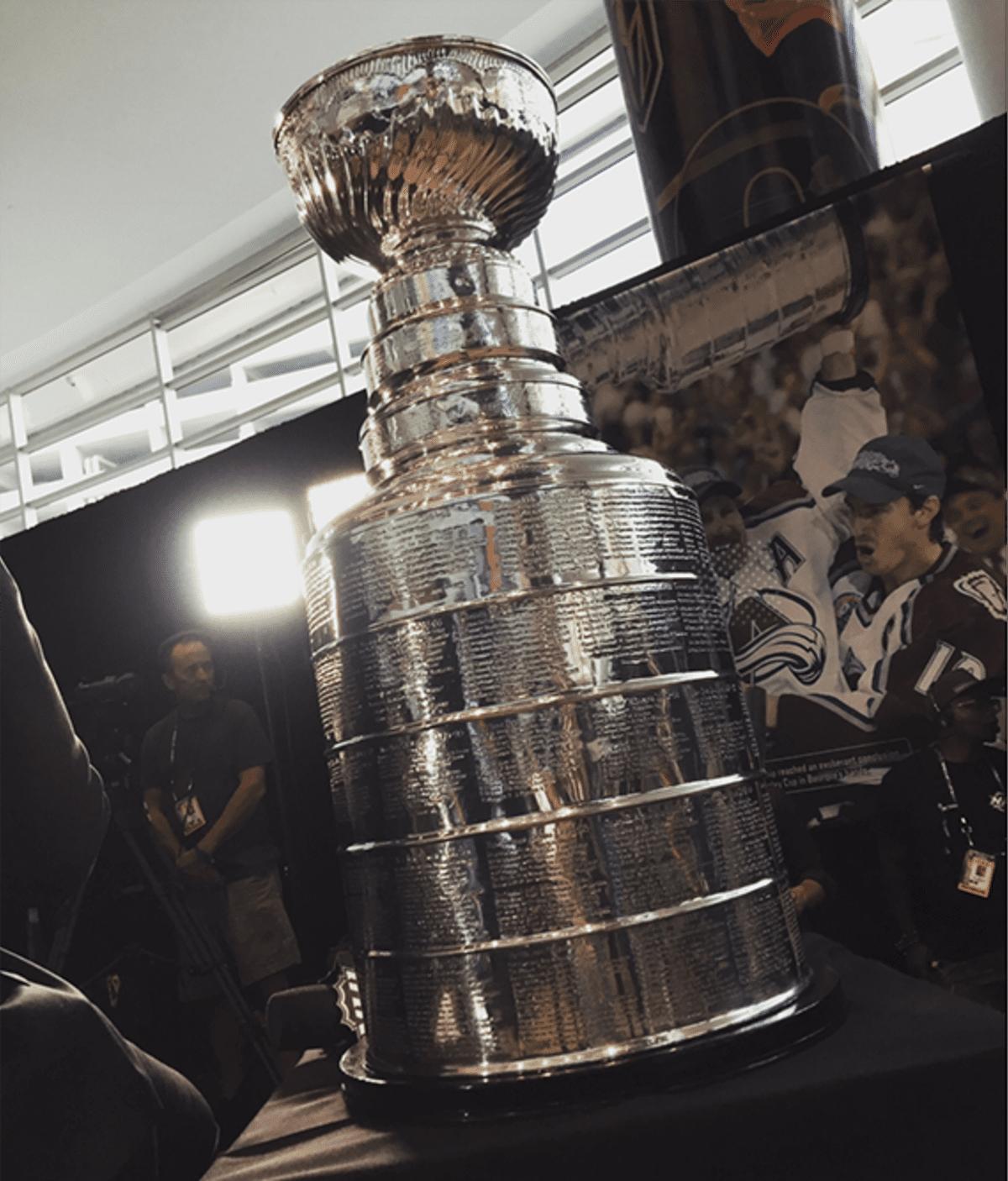 Kuva Stanley Cup -pokaalista