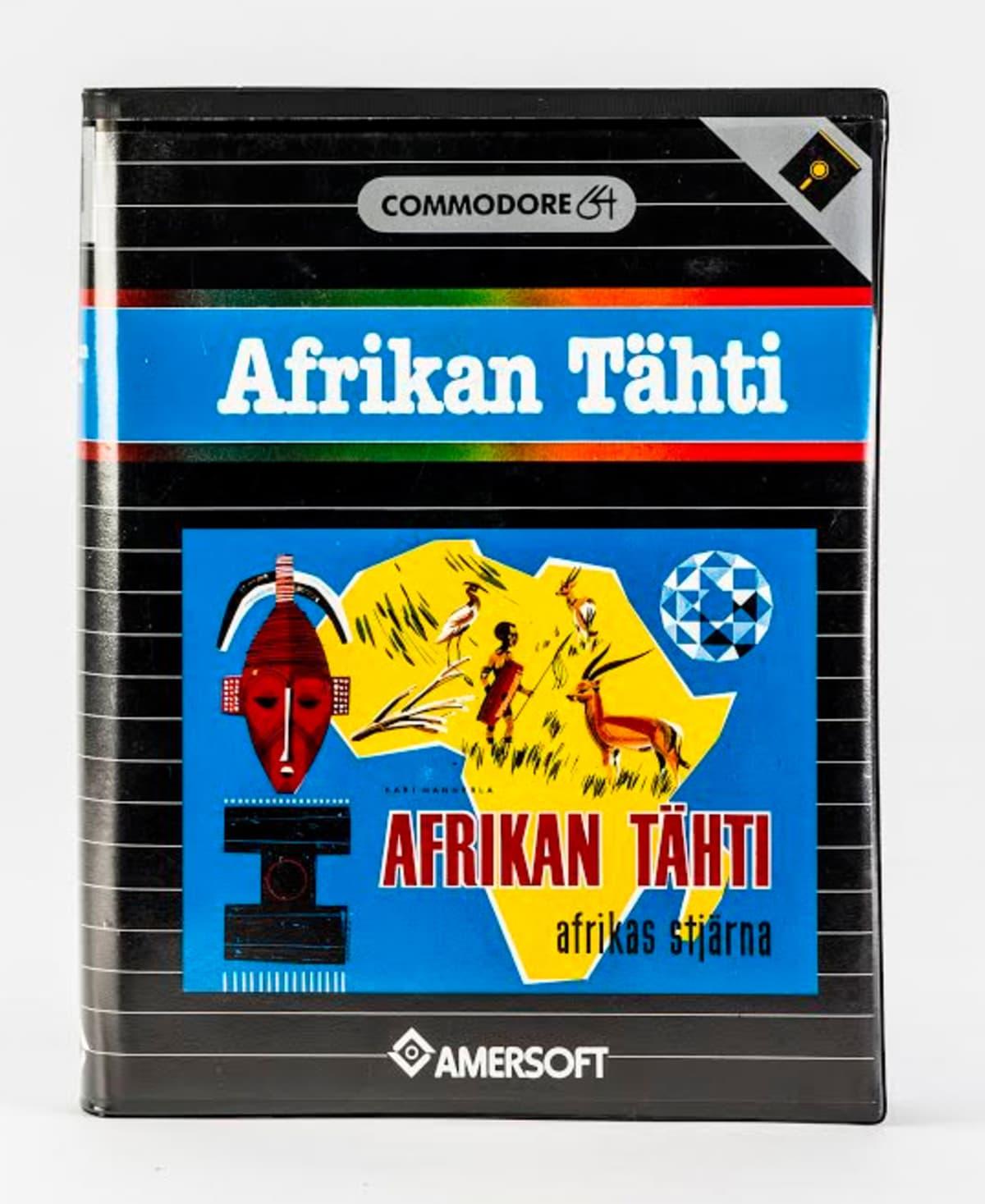 Afrikan Tähti -pelin kansi.