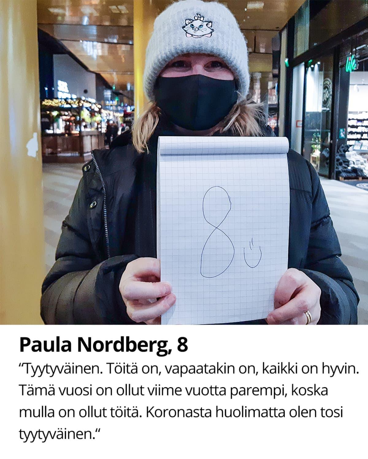 Paula Nordberg, 8