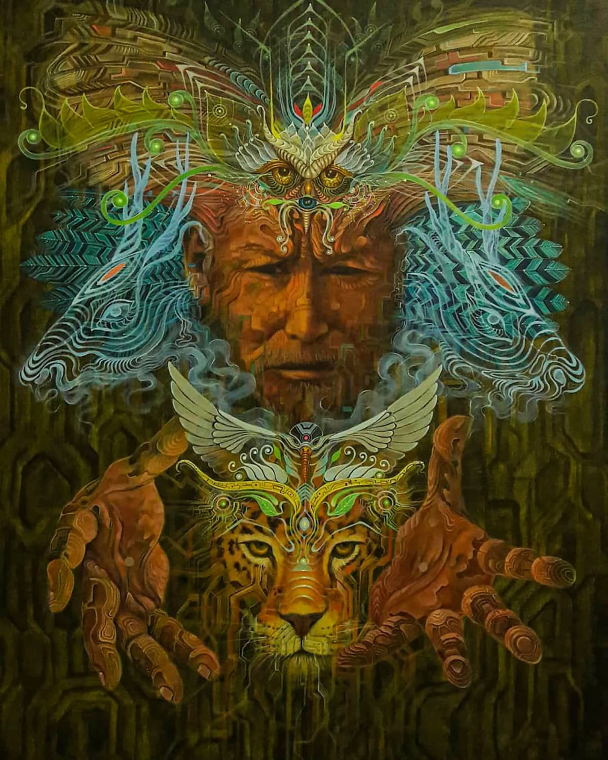 Geenss Archenti, Papruy, ayahuasca