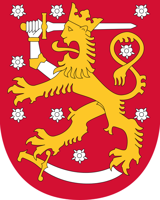 Suomen vaakuna.